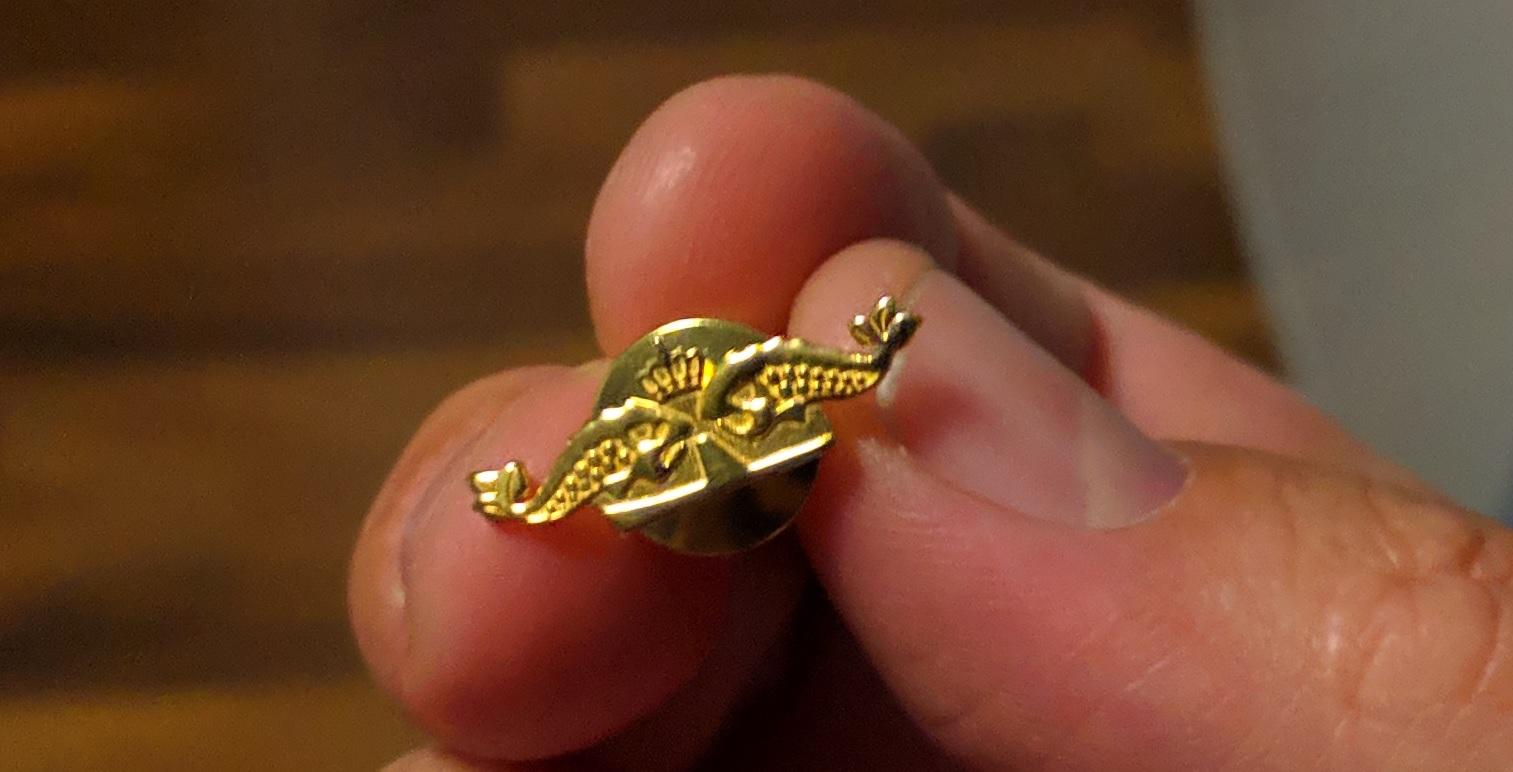 Ubåt miniatyr vinge